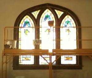 Window stripped-